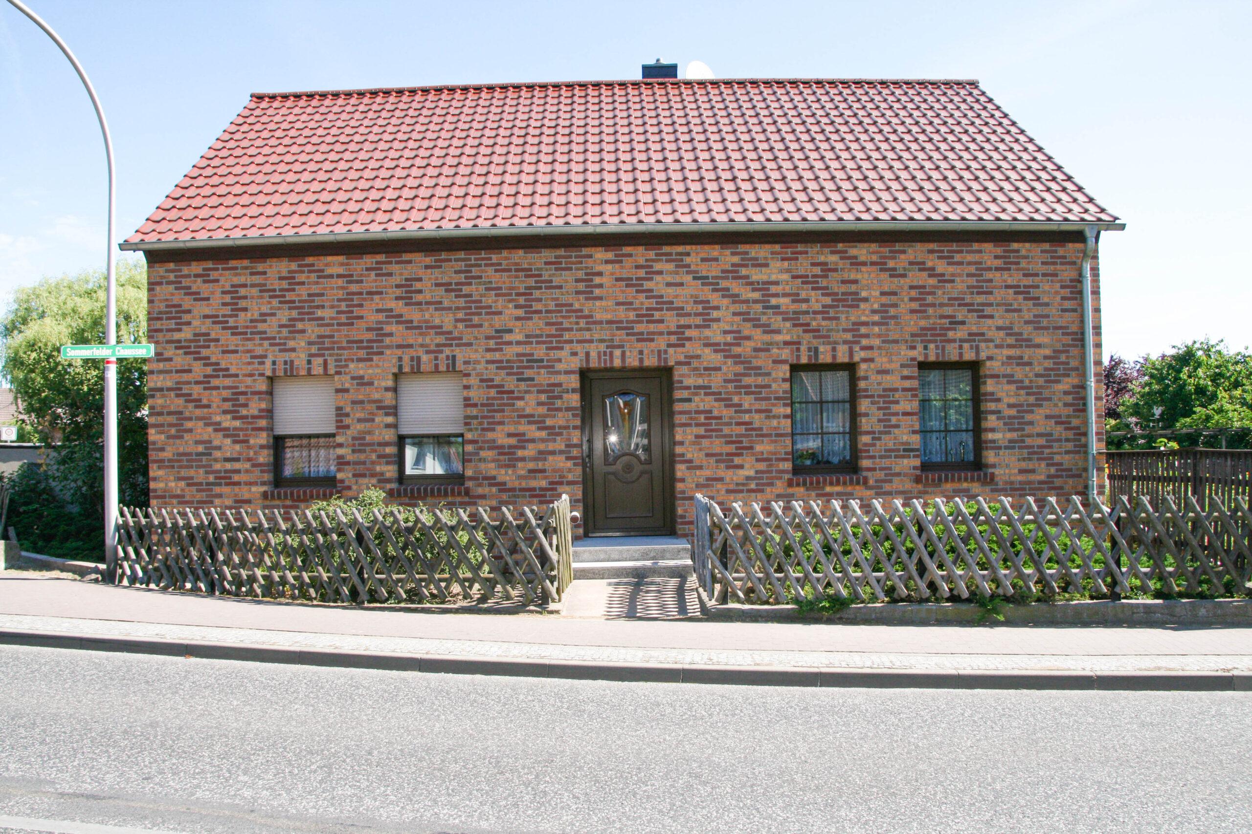 Verklinkerung von Fassaden Rapp