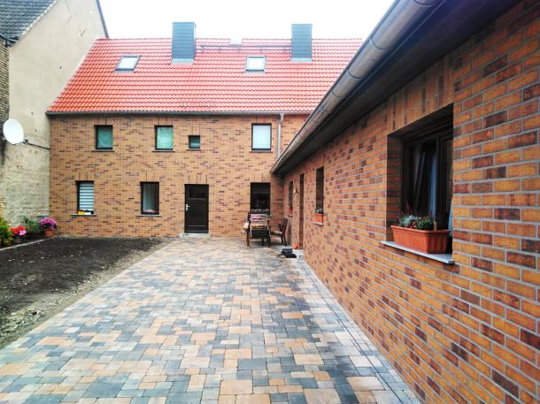 Qualitativ hochwertige Klinker und Dämmung dank Fassadensanierung
